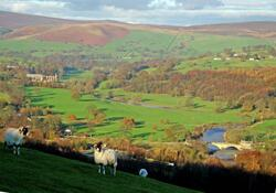 Bolton Abbey from Haw Pike